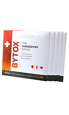 The Hangover Patch 5 Pack Bytox $15 BEST SELLER