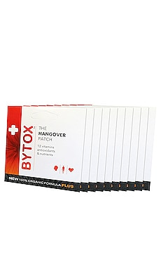 The Hangover Prevention Patch 10 Pack Bytox $30