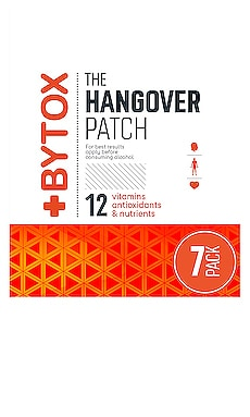The Hangover Prevention Patch 7 Pack Bytox $28