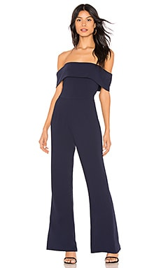 Aubrey Off Shoulder Jumpsuit by the way. $88