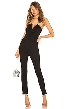 Madi Strapless Jumpsuit by the way. $76
