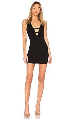 Victoria Deep V Mini Dress