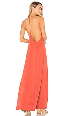 Tess Satin Maxi Dress