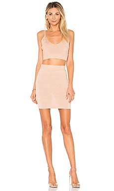 Paulina Lurex Knit Set superdown $38