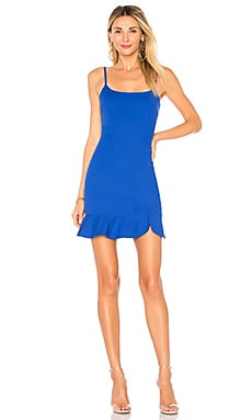 Shayla Ruffle Mini Dress superdown $64