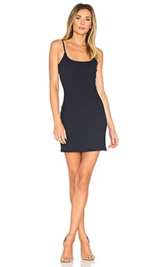 Lura A-Line Mini Dress in Navy