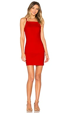 Portia Mini Dress in Poppy