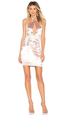 Marian Cut Out Halter Dress