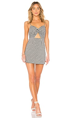 Belle Knot Mini Dress