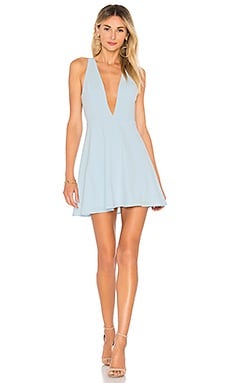 1372aeb9435 Sammie Deep V Skater Dress superdown  64 ...