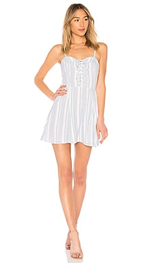 Libby Lace Up Dress by the way. $64