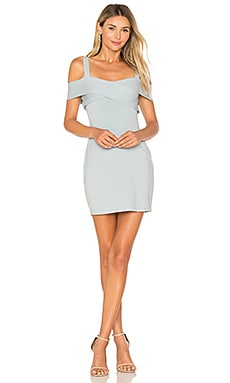 Evie Cold Shoulder Mini Dress