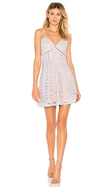 Maci Lace Skater Dress superdown $68 BEST SELLER