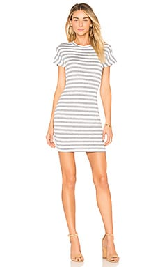 Bea Stripe Tee Dress by the way. $46