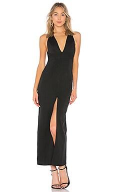 Вечернее платье с глубоким v-образным вырезом cassie - by the way.
