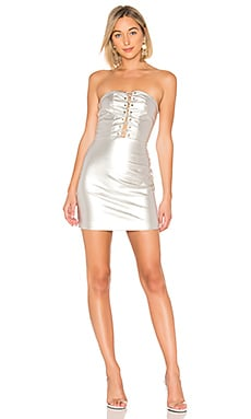 Minka Lace Up Tube Dress by the way. $44