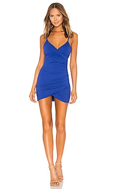 Dahlia Wrap Mini Dress by the way. $66