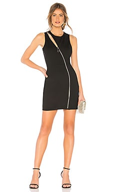 Leslie Zip Front Mini Dress by the way. $24 (FINAL SALE)