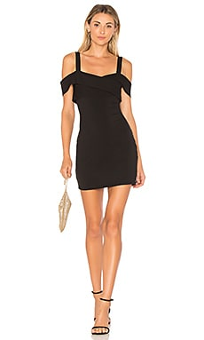 Evie Cold Shoulder Mini Dress superdown $72 BEST SELLER