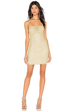 Aran Metallic Mini Dress by the way. $64