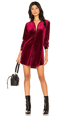 Vella Velvet Mini Dress superdown $74