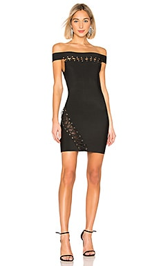 Ximea Off Shoulder Bandage Dress by the way. $43