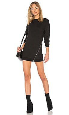 Tarina Zip Sweatshirt Dress