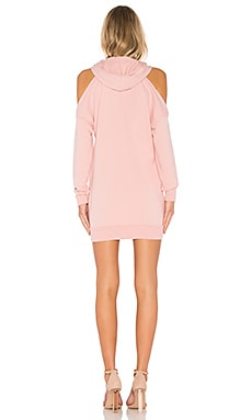 By The Way Delia Cold Shoulder Sweatshirt Dress Coupon