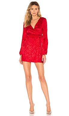 Camila Floral Jacquard Mini Dress by the way. $62