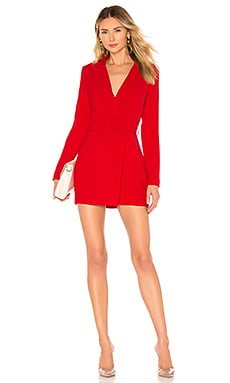 Joan Belted Blazer Dress superdown $78