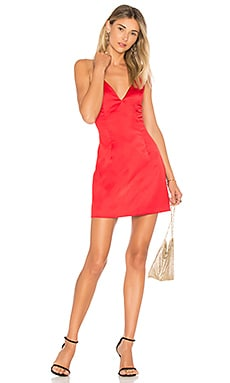 ROBE MINI EN SATIN KACIE by the way. $68