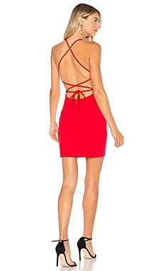 Solene Backless Mini Dress by the way. $66