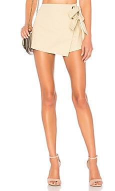 Alaya Grommet Wrap Skort superdown $48