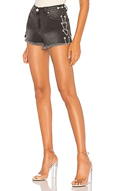 Janet Chain Denim Short by the way. $32