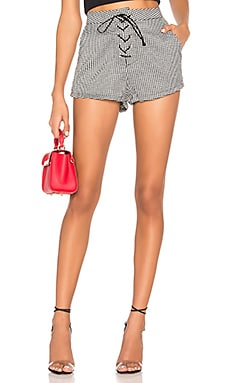 Jazmin Houndstooth Shorts by the way. $25