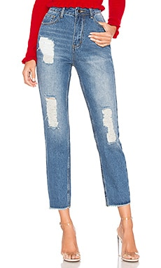 Sasha Distressed Jeans by the way. $41