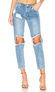 Angie Girlfriend Jeans superdown $78