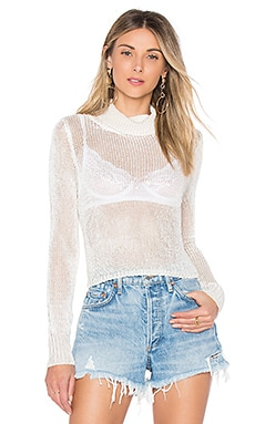 Hannah Open Knit Crop Sweater