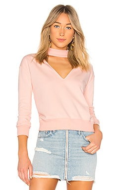 Ariella Choker Sweatshirt by the way. $30