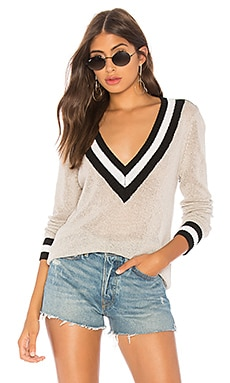 Bobbie V Neck Sweater superdown $56