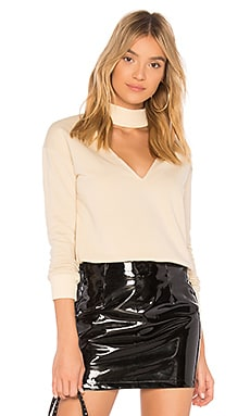 Ariella Choker Sweatshirt by the way. $34