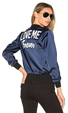 Love Me Bomber in Navy