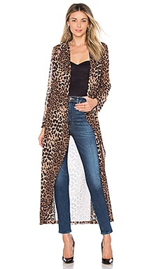 Freya Leopard Drape Trench by the way. $88
