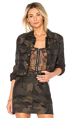 Hunter Camo Crop Jacket