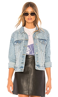 Pearl Denim Jacket superdown $86