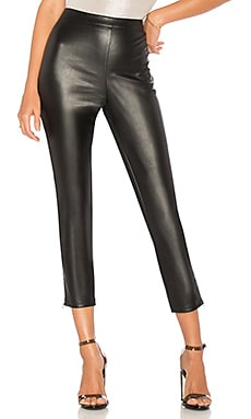 Nelly Side Zip Faux Leather Pant