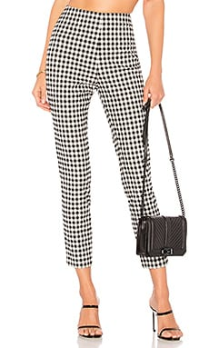 Dora Gingham Zip Pants