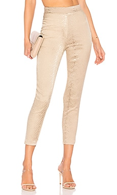 Kimberly Snakeskin Pants