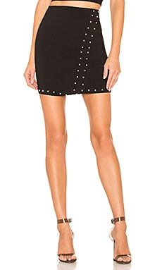 Kendra Studded Mini Skirt by the way. $33