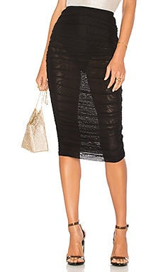 Kinsley Mesh Midi Skirt